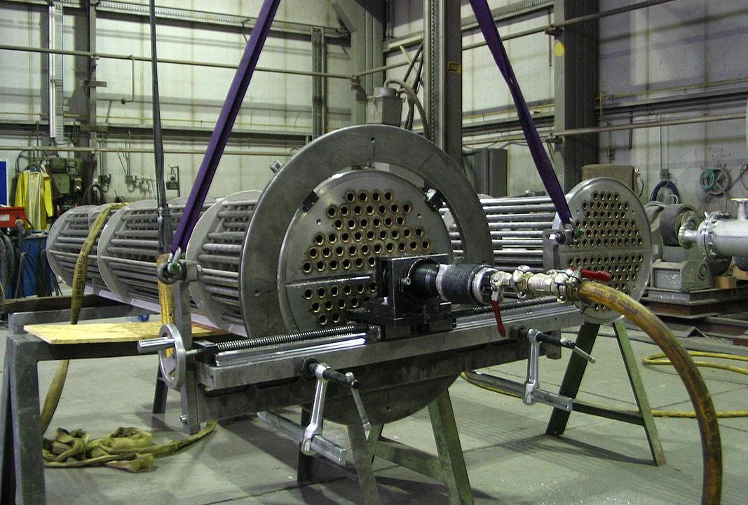 FG 1000 - Fraesen mobil Dichtnut Rohrboden - 12 mm breit x 400 mm lang